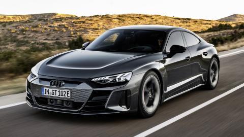 VÍDEO: así es conducir el Audi RS e-tron GT a 256 km/h por la Autobahn… en silencio