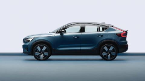 El primer SUV coupé eléctrico de Volvo