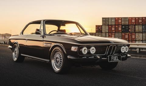 BMW 2800 CS swap BMW M3 E46