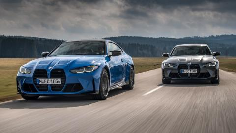 BMW M3 Competition y M4 Competition xDrive
