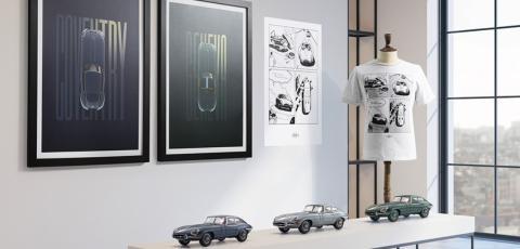 Colección regalos Jaguar E-Type
