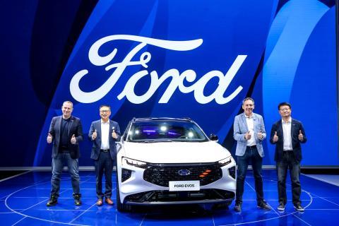 Ford Evos exterior