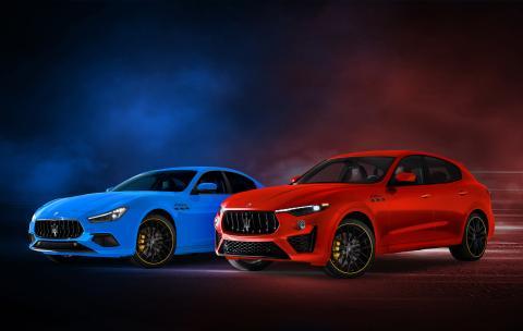 Maserati Ghibli y Levante F Tributo Special Edition
