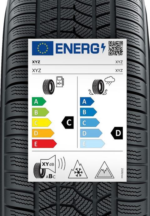 Nueva etiqueta para neumáticos (a partir del 1 de mayo de 2021)