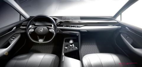 Nuevo diseño interior Honda