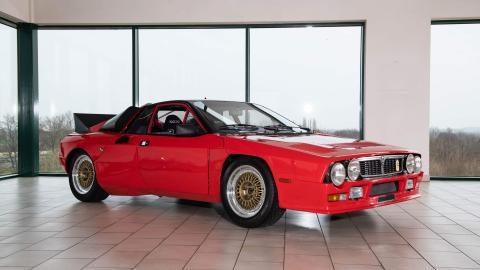 Primer Lancia 037 de rally