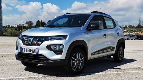 Prueba Dacia Spring Electric