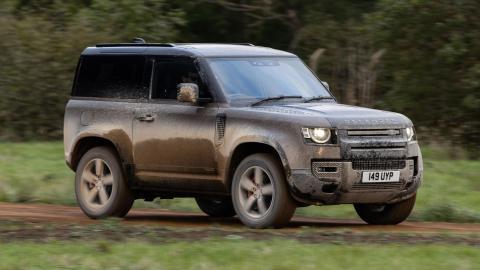 Prueba Land Rover Defender 90 P400