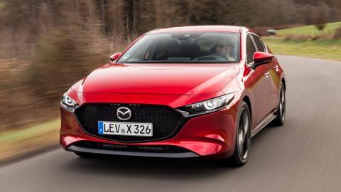 Prueba del Mazda3 e-Skyactiv X