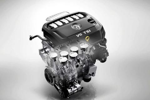 Volkswagen motor VR6 China