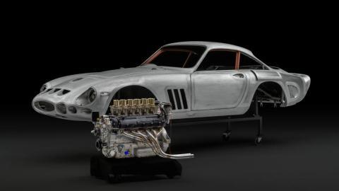 Body in white. Ferrari 330 LMB