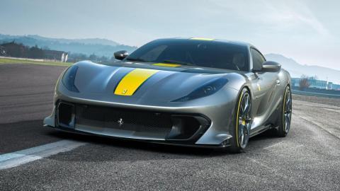 Ferrari 812 Competizione y 812 Competizione A