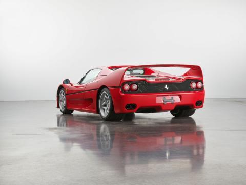Ferrari F50 a subasta