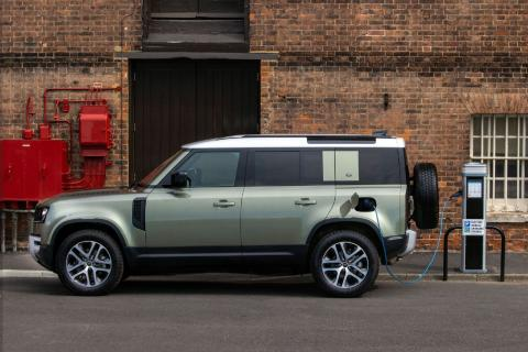 Land Rover Defender híbrido enchufable