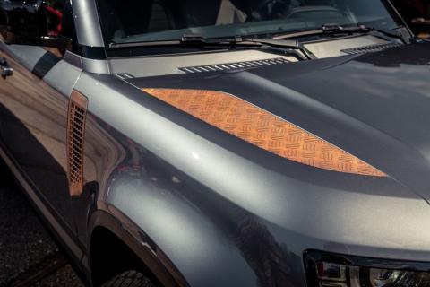 Land Rover Defender 'Valiance' de Heritage Customs