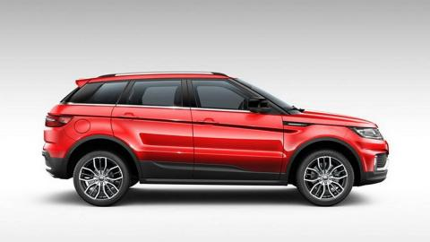 Landwind X7, copia china del Range Rover Evoque