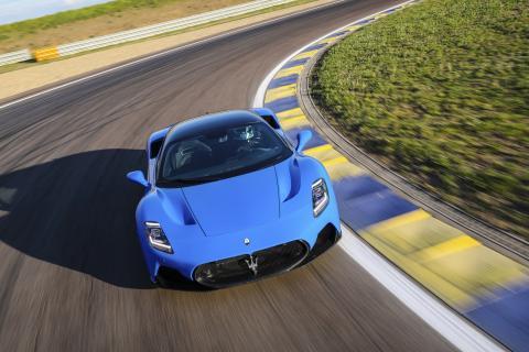 Maserati MC20 a prueba