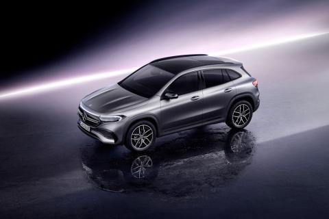 Mercedes EQA 2021 gris