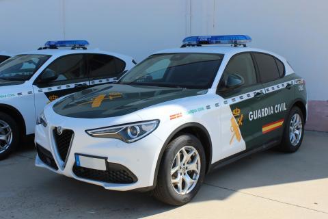 Nuevos coches Guardia Civil verano 2021