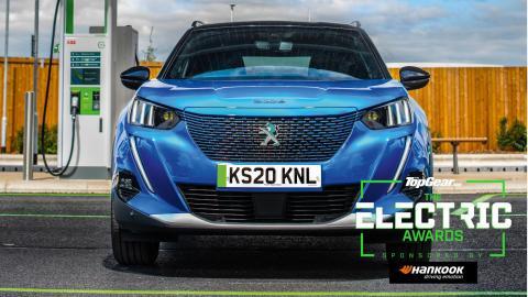 Peugeot e2008 Top Gear Electric Awards
