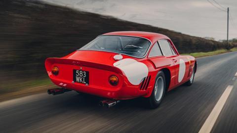 Prueba Ferrari 330 LMB