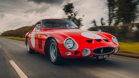 Prueba del 'nuevo' Ferrari 330 LMB
