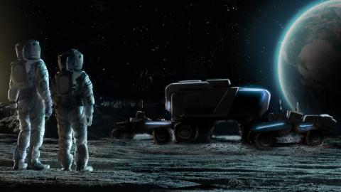 Rover lunar de General Motors y Lockheed Martin