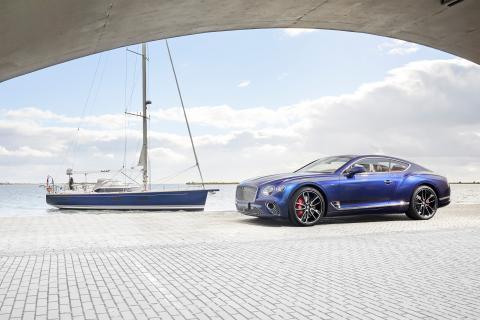 Bentley Continental GT y yate Contest 59 CS