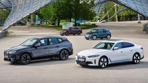 BMW Eléctricos (i4, iX, i3 e iX3)