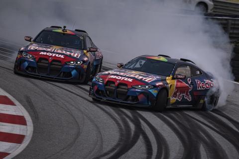 BMW M4 Competition de drift