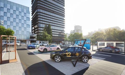 Exposición Porsche Boxes