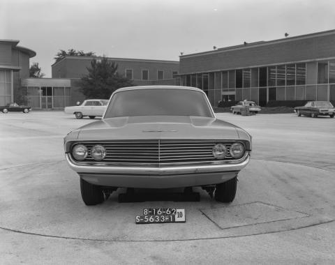 Ford Mustang (Prototipos de Advanced Products Studio en 1962)
