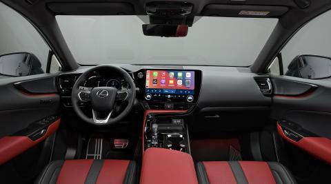 Interior del Lexus NX 2021