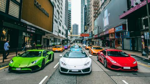Lamborghini Gallardo en NY