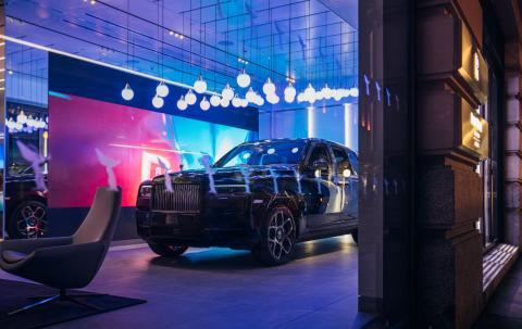 Nuevo concesionario Rolls-Royce