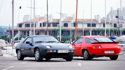 Porsche 928 y 928 S de 1982