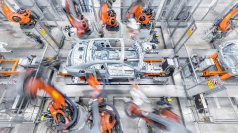 produccion coches microchips