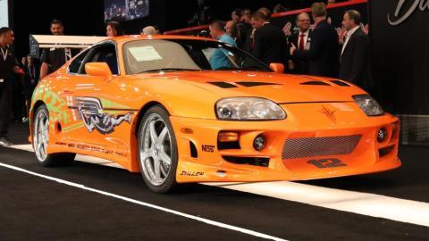 Subasta de Barrett-Jackson del Toyota Supra 'Stunt 1' de Fast & Furious