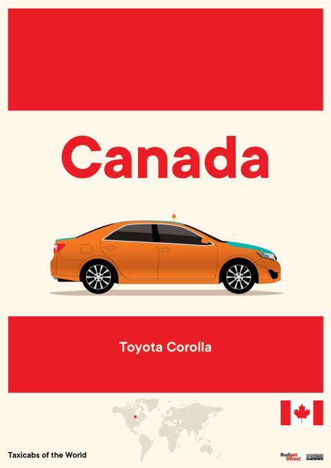 Taxis de América del Norte