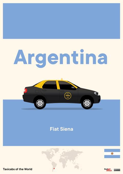Taxis de América del Sur