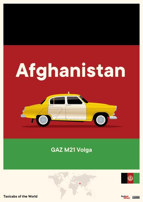 Taxis de Oriente Medio y Asia Central