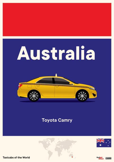 Taxis del resto de Asia y Oceanía