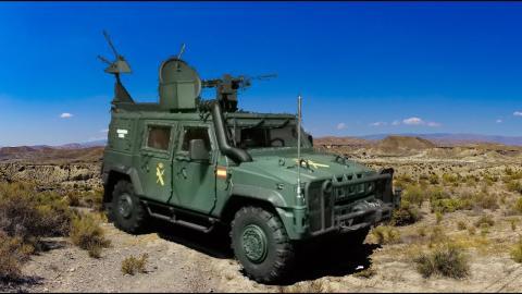 Vehículos Lince Guardia Civil