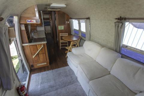 Airstream de Tom Hanks interior