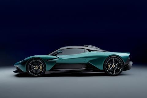 Superdeportivo híbrido de Aston Martin