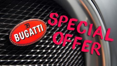 Los Bugatti más baratos