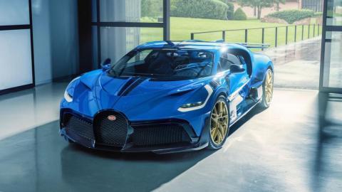 Bugatti Divo unidad 40 de 40