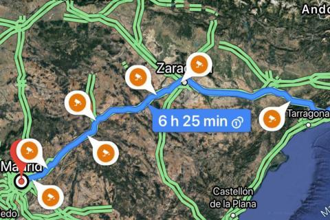 Cómo activar en Google Maps el aviso de los radares