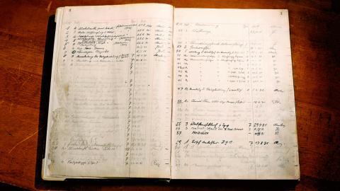 Cuadernos de ingeniería de Porsche
