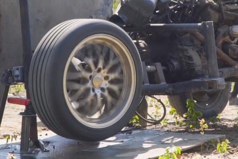 Explota rueda